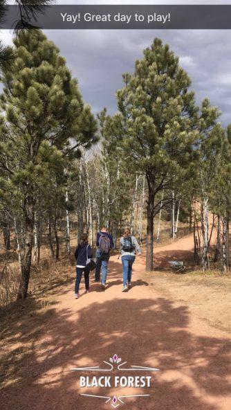 Youth Group Hike